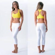 White Mesh Yoga Leggings | White yoga leggings, Yoga and Mesh leggings