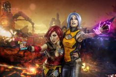Lilith and Maya from Borderlands 2