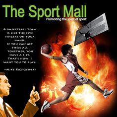 The Sport Mall Brand Identity Design