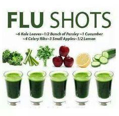 Green Flu Shots... Dr. Axe
