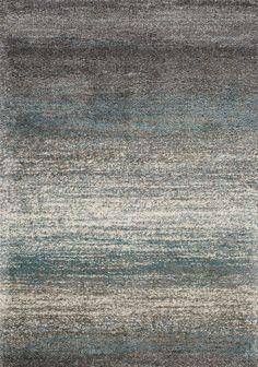 Bunderberg Gray/Blue Area Rug