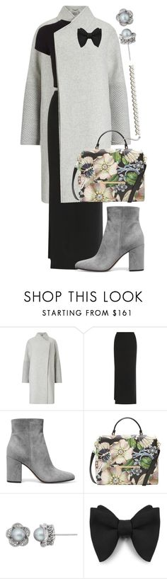 """""""OVERSIZED COAT"""" by amltra ❤ liked on Polyvore featuring T By Alexander Wang, Getting Back To Square One, Gianvito Rossi, Ted Baker and Simply Vera"""