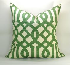 Kelly Wearstler Imperial Trellis pillow
