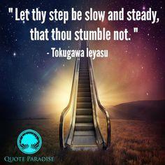 Tokugawa Ieyasu on Perseverance Tokugawa Ieyasu, Perseverance Quotes, Let It Be