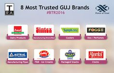 India most trusted brands #India #Gujrat #OhMyIndia #Sintex #Vadilal #Fogge