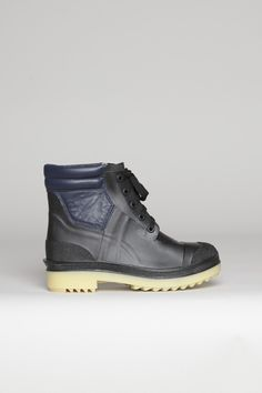Cutest Rain Boot!!!  Totokaelo - Rachel Comey - Piedmont - Black/Cream