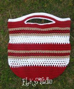 Fun in the Sun Crochet Summer Beach Bag