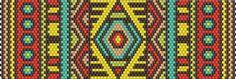 Mosaic Peyote Bracelet Patterns  #heartbeadwork