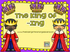 Check out this blog for some great ideas for teaching the -ing ending and The King Of Ing!