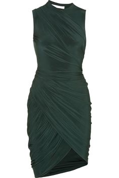 Wow - Love everything about this dress! Alexander Wang | Gathered jersey dress