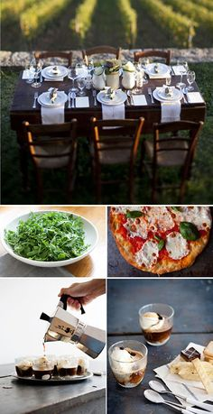Channeling Contessa: Setting the Table: Trip to Tuscany Williamsburg Food, Apricot Cake, Grilled Pizza, Raspberry Lemonade, Orange Is The New, Simple Syrup, Bon Appetit, Tuscany, Party Planning