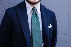 Harris Tweed and a new 36oz foulard. #drakes