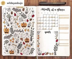 37 October Bullet Journal Ideas To Plan The New Month