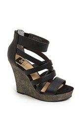 BC Footwear 'Tell You What' Wedge Sandal