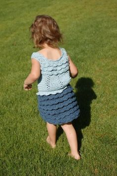 Cotton Ruffled Skirt and Top Toddler Sizes on Etsy-  Baby J will just have to wait