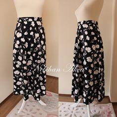Pratik Maksi - Uzun Etek Kesimi ve Dikimi - NEBİHAN AKÇA Waist Skirt, High Waisted Skirt, Skirts, Anne, Fashion, Molde, Patterns, Dressmaking, Sewing Patterns