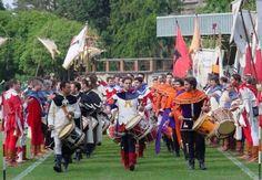 Corsa Anello. Eventi in Umbria. A Narni