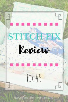 Here's my review of my 5th fix from Stitch Fix! Here's what I liked or didn't like, and what I will be keeping or returning! Referral link: https://www.stitchfix.com/referral/8366191?sod=w&som=c