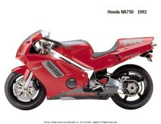 1992 Honda NR 750