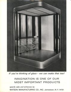 #TBT to this ad from the September 1966 issue! #elevatormanufacturing #glasscabs #Jamestown