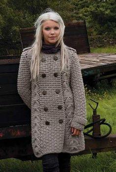Пальто женское спицами схемы фото