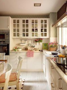 Una casa decorada en tonos pastel:
