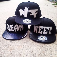 NEW HATS AVAILABLE ON WWW.NEETFREAKCLOTHING.COM