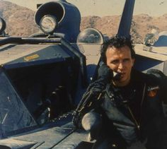 Buckaroo returns from eighth dimension. In fact he returns via The Playa where Burning Man is held each year! Peter Weller, Blue Blaze, Film Movie, Movies, Films, Science Fiction Series, World Watch, Retro Futurism, Watches Online