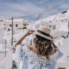 I love you Santorini #collageontheroad (en Fira Thira Santorini)