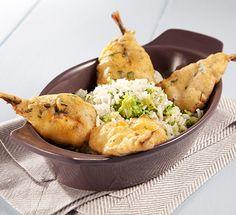 Carapaus em tempura