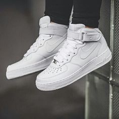 f2853da80af NIKE Women s Shoes - Nike WMNS Air Force 1 Mid LE (white) - Sneaker Store  Fulda Clothing