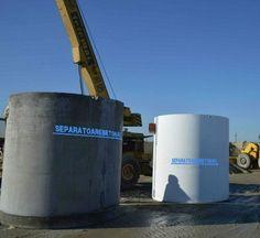 Separator de hidrocarburi pentru parcari