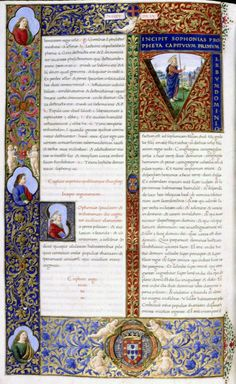 22 Biblia dos Jeronimos, Lisboa.