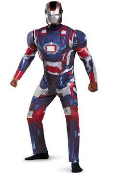 b409003160 Marvel Iron Patriot Deluxe Adult Costume  Halloween  costumes  superheroes   marvel  ironman