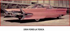 1954 Ford La Tosca #Ford #ClassicCars #CTins
