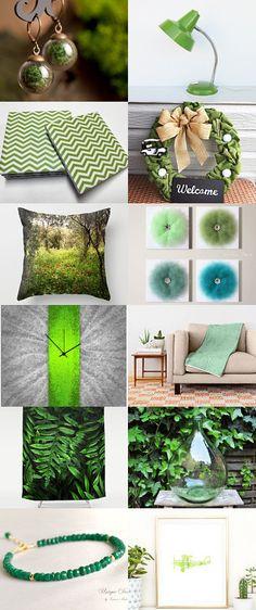 Something Green by Viktorija Jefremova on Etsy--Pinned+with+TreasuryPin.com