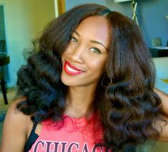 Nikki is Naturally Glam! | Curly Nikki | Natural Hair Styles and Natural Hair Care