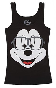 Mickey Mouse Oversized Nerd Black Womens Tank Top - Large Disney http://www.amazon.com/dp/B00M8PUZTQ/ref=cm_sw_r_pi_dp_jO77tb0EYZ792