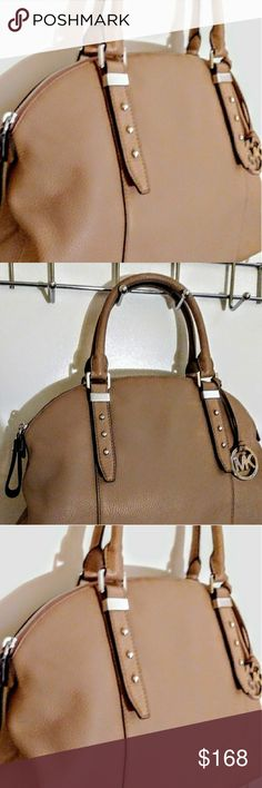 fcc91386de9c NWT Michael Kors Brand new with tags. Tan leather genuine Michael Kors  handbag. Michael