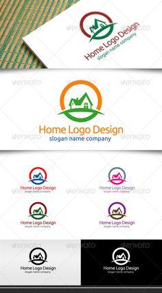 Home Logo Design - Buildings Logo Templates