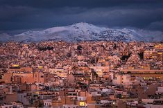 View Of Central Athens And Penteli Mountain From Areopagus Hill Photography , Athens, Beverly Hills, Mount Everest, Paris Skyline, Grand Canyon, Milan, City Photo, Greece, United States