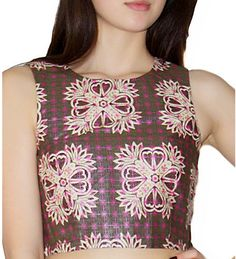 This cute Celtic Thistle Shell Top is made from ethically sourced cotton, and made by artisans that benefit from the sale of this product, by Mayamiko Designs. http://tiff.uk.com/shop/celtic-thistle-shell-top/
