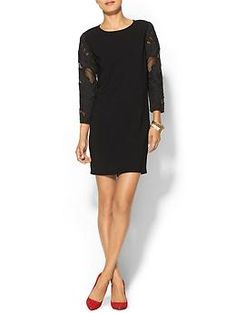 Piperlime Collection Contrast Sleeve Dress | Piperlime #datenight
