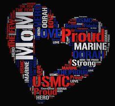 <3 Oorah Marines, Usmc, Marine Mom, Us Marine Corps, Military Mom, Proud Mom, Words, Momma Bear, Life