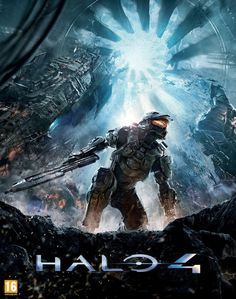 Divulgada a bela capa oficial de Halo 4