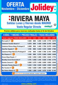 Oferta Riviera Maya desde 880€. Salidas Lunes y Viernes desde Madrid. ultimo minuto - http://zocotours.com/oferta-riviera-maya-desde-880e-salidas-lunes-y-viernes-desde-madrid-ultimo-minuto/