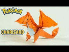 Paper Pokemon - Origami Charizard Tutorial - Intermediate version (Henry Phạm) - YouTube
