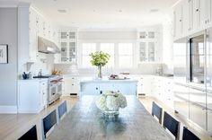 U Shaped KItchen Ideas - Transitional - kitchen - Tamara Magel