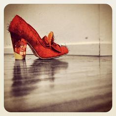 SHE.  #shoes #love #red