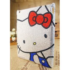 iPad2 Hello Kitty Crystals Best Case Cover